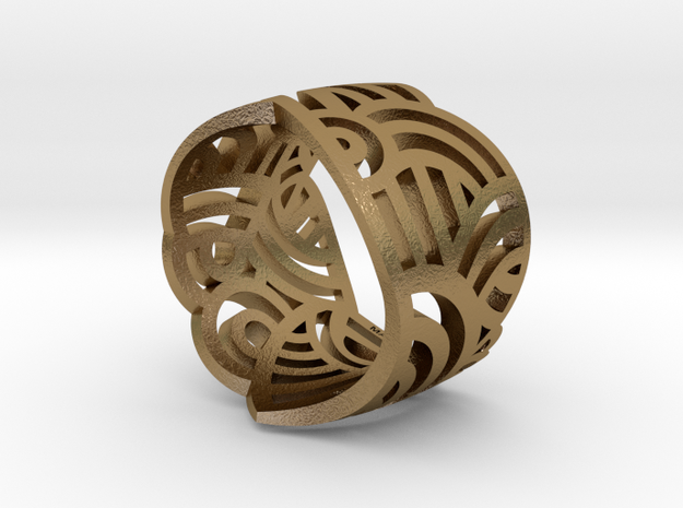 Vase Ring 7US 3d printed Add a caption...
