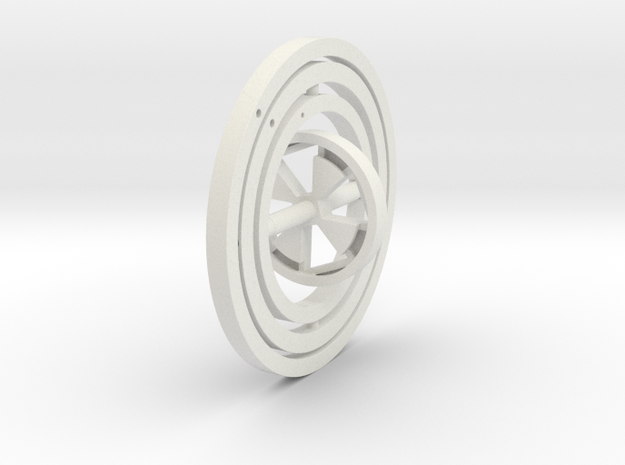 Gyroscope in White Strong & Flexible