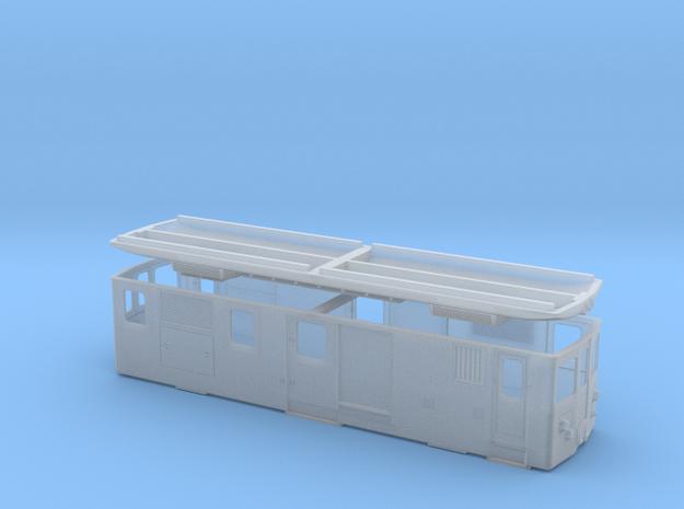 CJ De 4/4 I in Smooth Fine Detail Plastic: 1:120 - TT