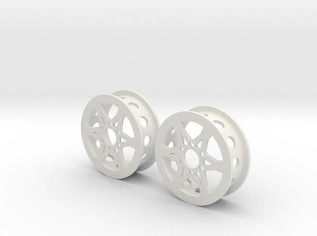 "1.9"" Wheel for RC4WD Hub in White Strong & Flexible"