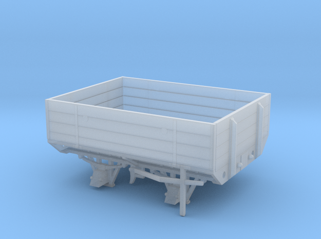 GWR W&L Timber Bolster Open Wagon in Smoothest Fine Detail Plastic