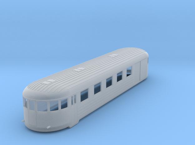 0-160fs-finnish-vr-dm7-railcar-trailer in Smooth Fine Detail Plastic
