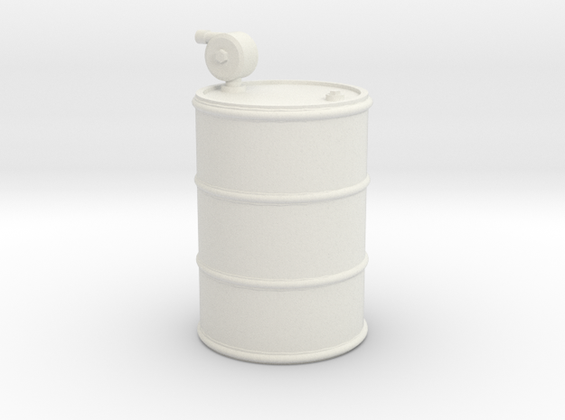 1/25th 55 gallon fuel drum with hand pump