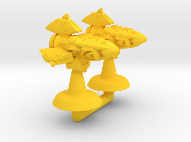 Ushio Class Frigate - 1:20000 in Yellow Processed Versatile Plastic