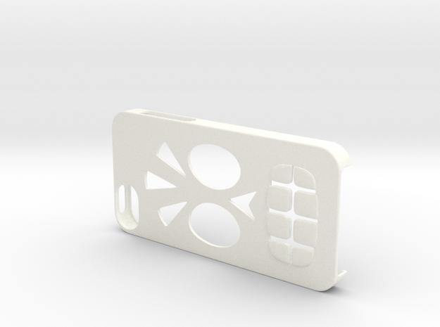 Calavera Iphone 5 Case 3d printed