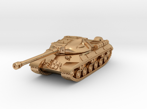 Tank - IS-3 - keychain in Natural Bronze