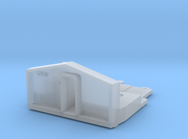 RF16 Sharknose Floor & Dash (S scale) in Smooth Fine Detail Plastic