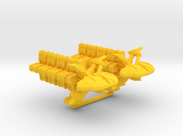 Hira Maru Class Transport - 1:20000 in Yellow Processed Versatile Plastic