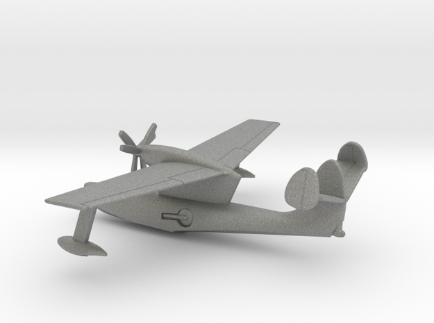 Supermarine Type 381 Seagull in Gray PA12: 1:200