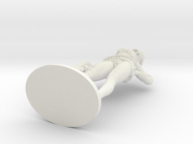 Bombshellshock Short gun Plastic in White Natural Versatile Plastic: Small
