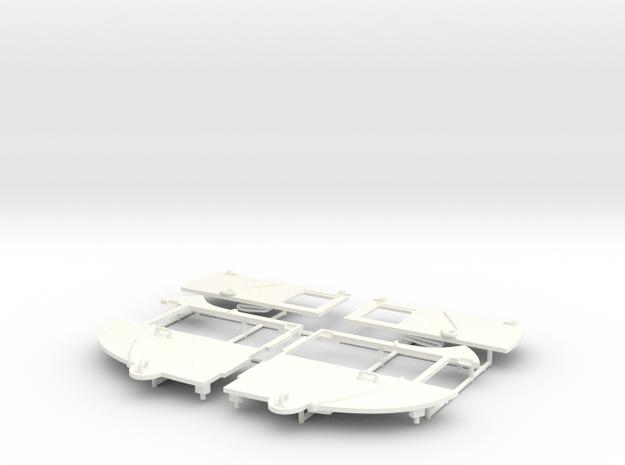 BERLINE PART 1  in White Processed Versatile Plastic