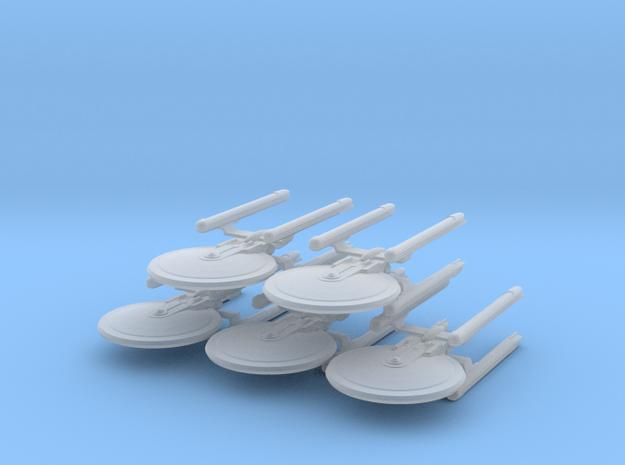 1/10000 Tessera (standard naceles) - 5 ships pack in Smooth Fine Detail Plastic