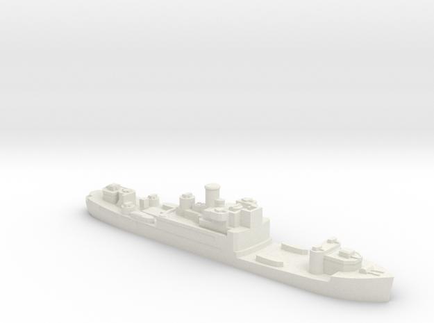 German Sperrbrecher 27 WW2 1:1250 VersPlas in White Natural Versatile Plastic