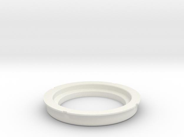 S2 Gauge holder in White Natural Versatile Plastic