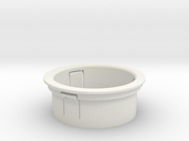 MotoBi Gauge holder in White Natural Versatile Plastic