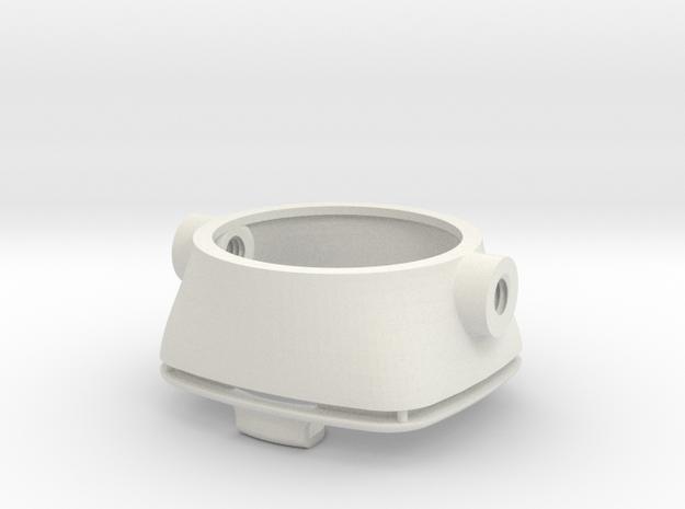 Gauge adaptor for VNA in White Natural Versatile Plastic