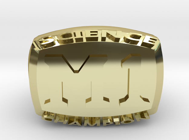 Science M1 Champion in 18K Yellow Gold