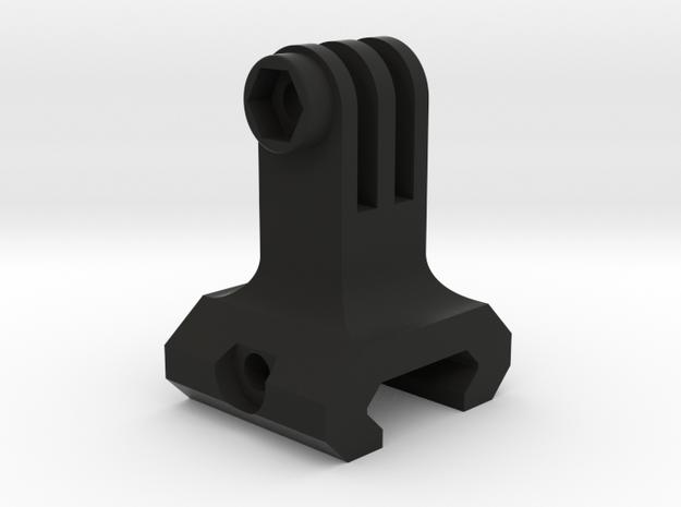Weapon Mount for GoPro (all models) in Black Natural Versatile Plastic