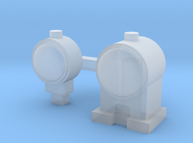 OO Scale Lamps in Smoothest Fine Detail Plastic