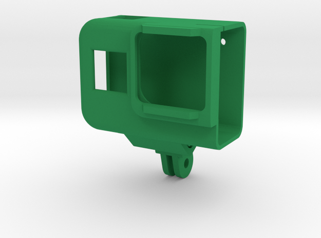 Universal Case for GoPro 8 in Green Processed Versatile Plastic