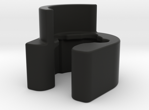 Bugaboo Wheelie Board Bracket Right in Black Natural Versatile Plastic