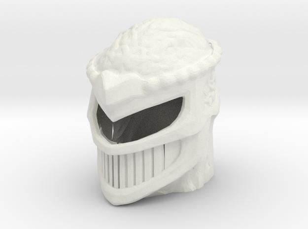 new zedd head  in White Natural Versatile Plastic