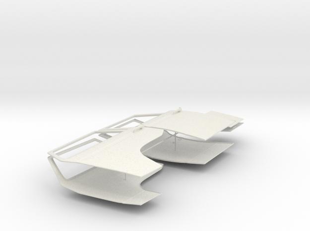 VW T3 Alle Türen und Luken in White Natural Versatile Plastic