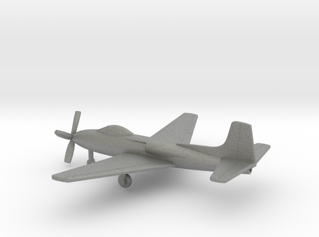 Consolidated Vultee XP-81 in Gray PA12: 1:200
