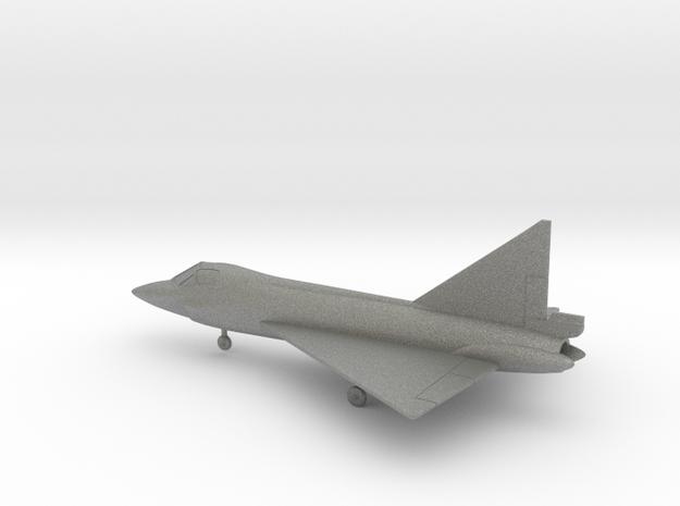 Convair TF-102 Delta Dagger in Gray PA12: 1:200