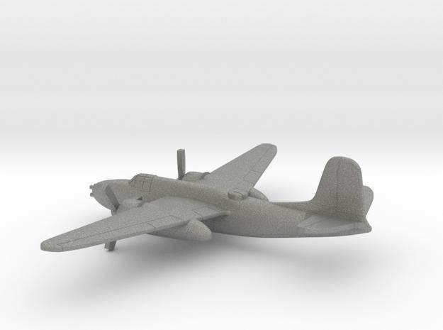 Douglas A-20G Havoc in Gray PA12: 6mm