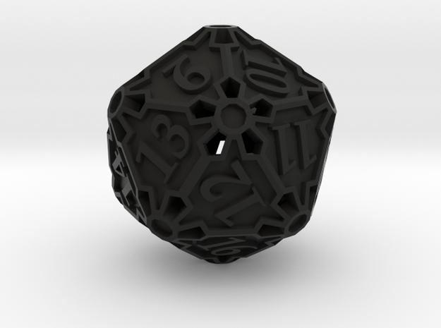 Spindown Huge Die20 3d printed