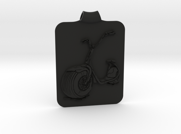 Scooter Key Fob 3d printed