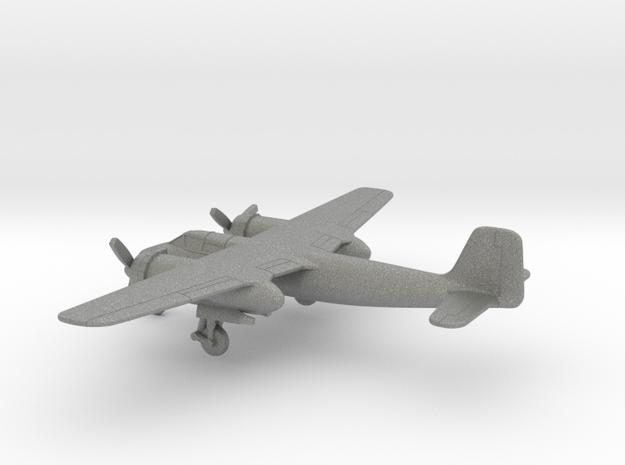 Focke-Wulf Ta 154 A-4 Moskito in Gray PA12: 1:200