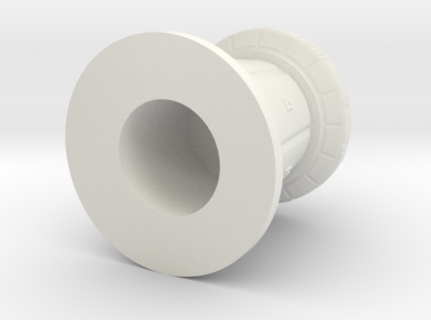 df9 defense tower 1:24 in White Natural Versatile Plastic
