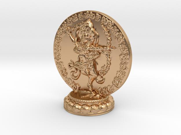 Kurukulle Miniature Statue in Polished Bronze