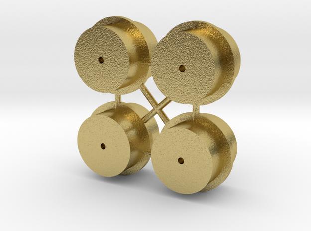 K700 Ersatz-Felgen // Mikroengineering in Natural Brass