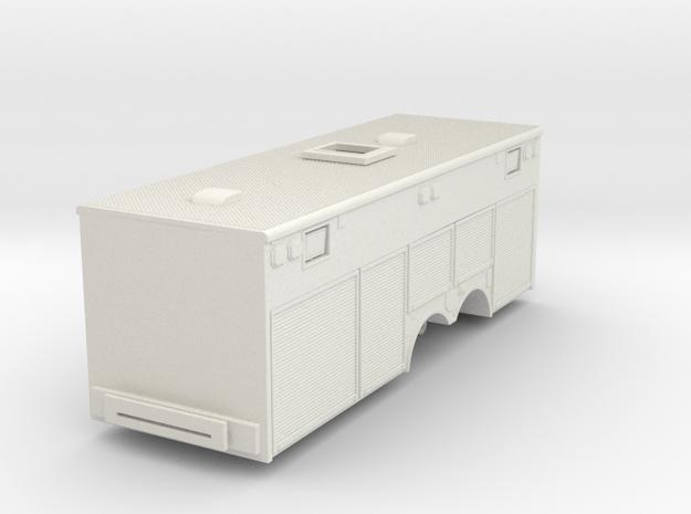 1/87 KME Heavy Rescue Body V1 in White Natural Versatile Plastic