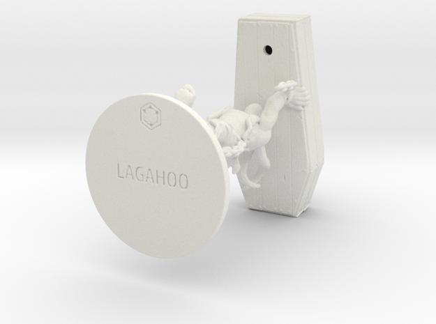 LAGAHOO_99.39mm in White Natural Versatile Plastic