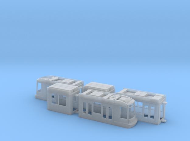 Rheinbahn NF8 in Smooth Fine Detail Plastic: 1:120 - TT