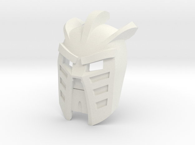 Mask of Light (not worn) in White Natural Versatile Plastic