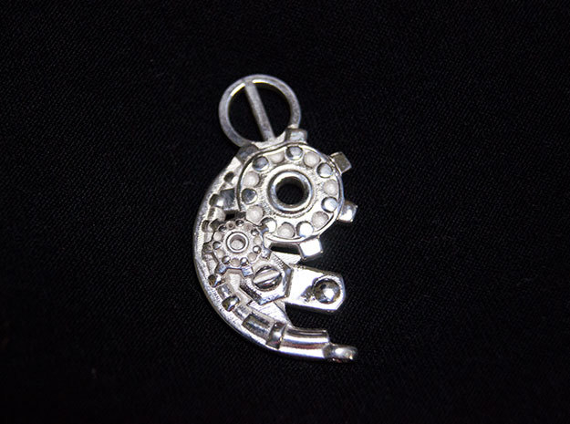 Yang Mechanical SMALL in Polished Silver