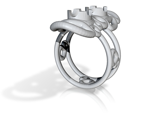 bone ring 4 3d printed