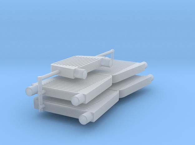 1/24 1/25 intercooler 2 in Smooth Fine Detail Plastic