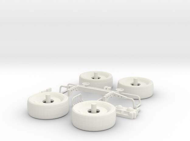 1/18 JP Explorer Part 2 (additional parts) in White Natural Versatile Plastic