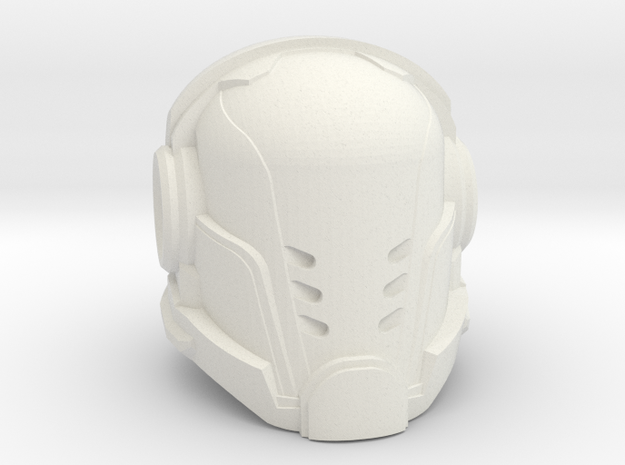 Paladin helmet 40mm High in White Natural Versatile Plastic