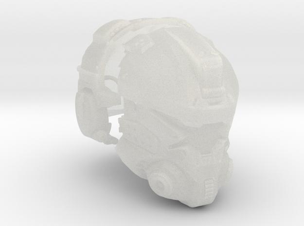 1:6 Scale Sci-Fi Pilot Helmet FUD