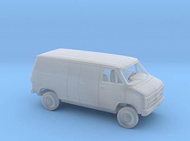 1/160 1992-95 Chevrolet G Van Reg Delivery Kit in Smooth Fine Detail Plastic