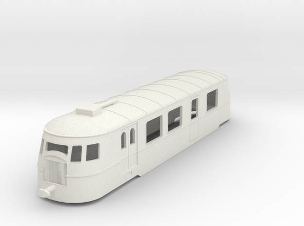 bl64-a80d1-railcar in White Natural Versatile Plastic