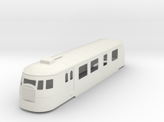 bl19-a80d1-railcar in White Natural Versatile Plastic