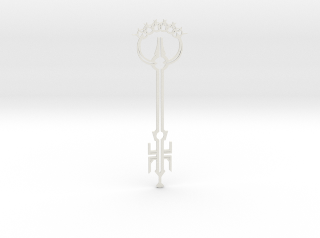 Anywhere Key in White Natural Versatile Plastic